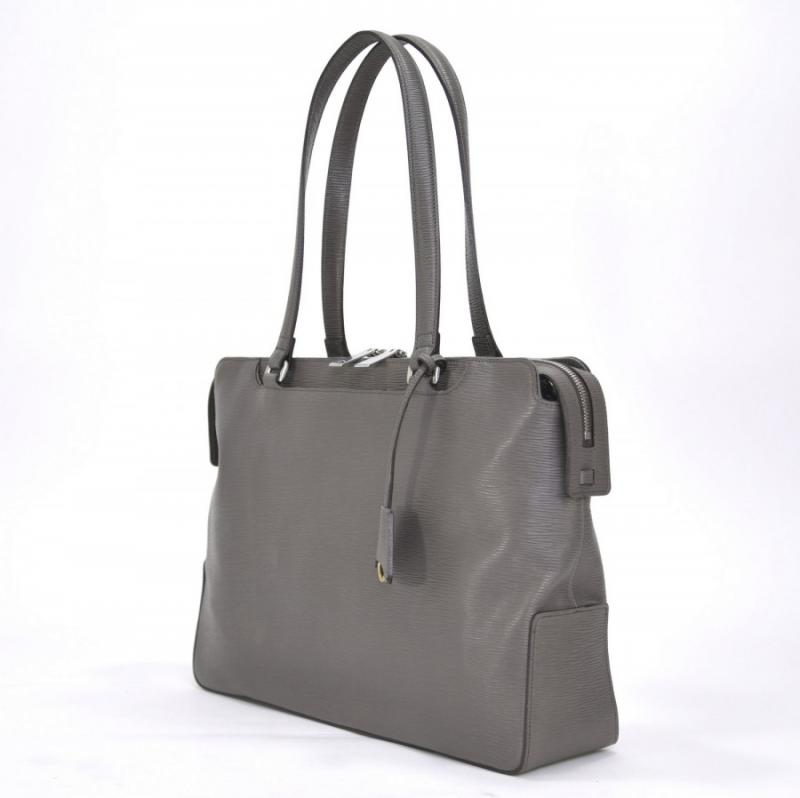 aniary トートバッグ Wave Leather 牛革 Totebag 16-02001-gy
