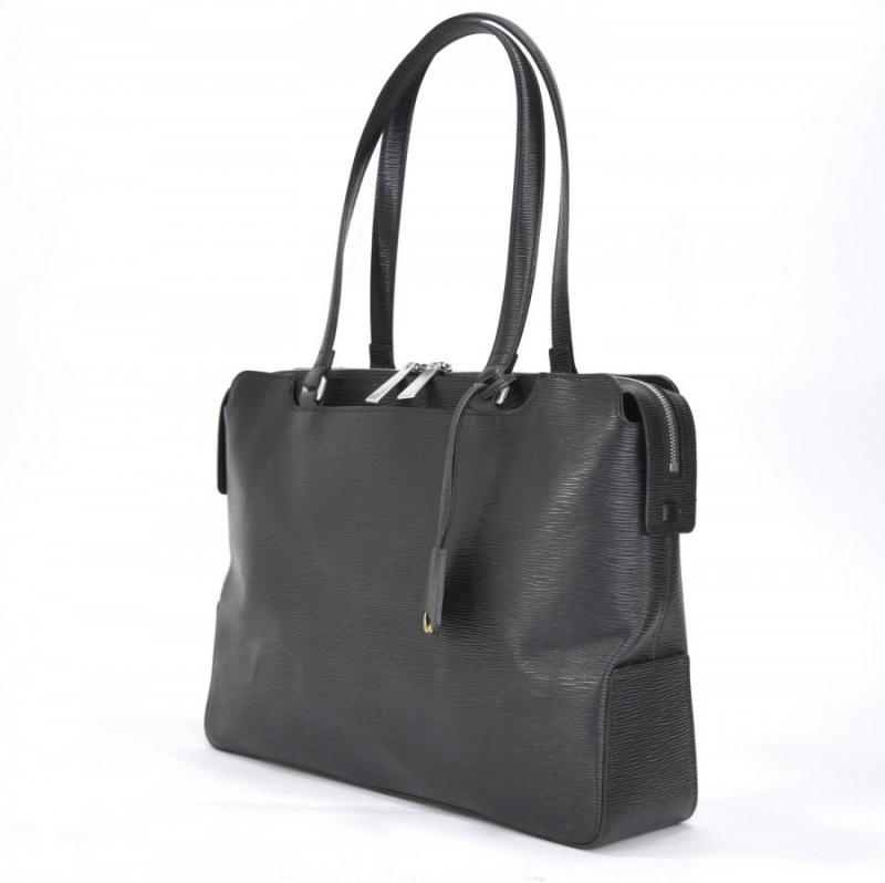 aniary トートバッグ Wave Leather 牛革 Totebag 16-02001-bk
