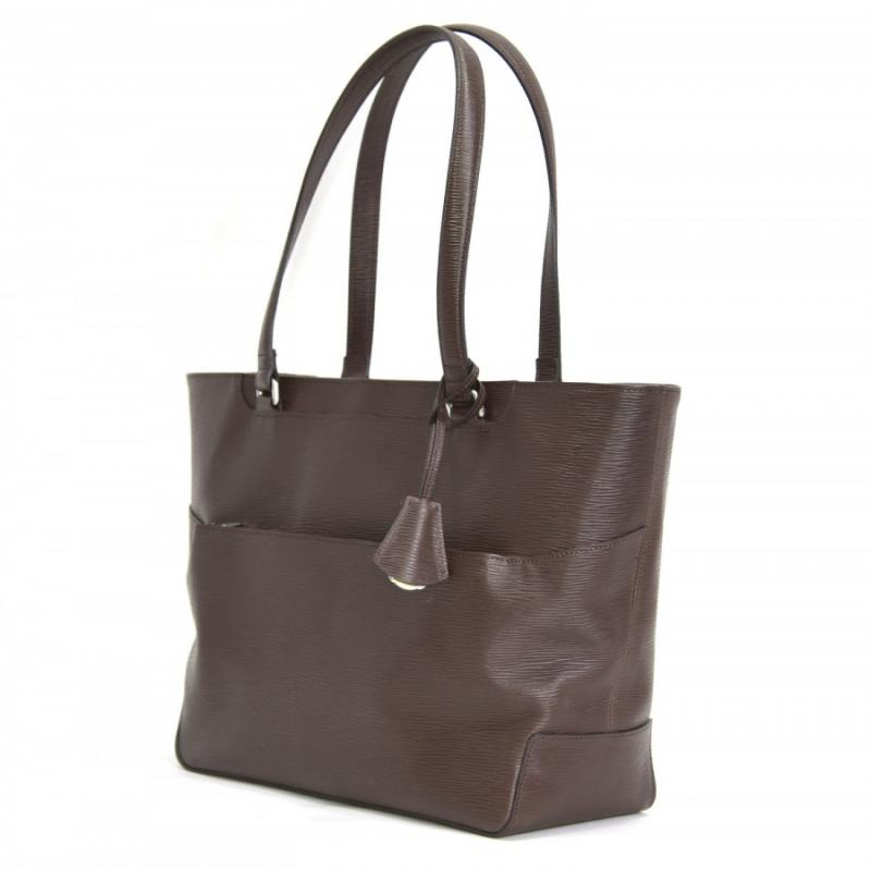 aniary トートバッグ Wave Leather 牛革 Totebag 16-02000-br