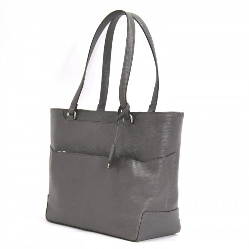 aniary トートバッグ Wave Leather 牛革 Totebag 16-02000-gy
