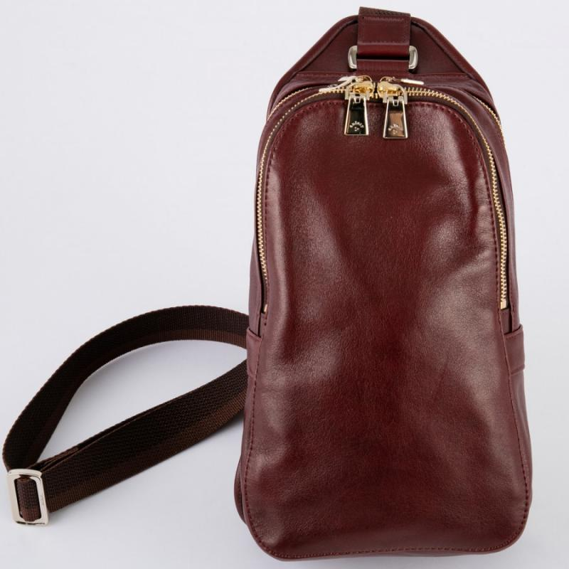 aniary ボディバッグ Antique leather 牛革 Body bag 01-07004-ma