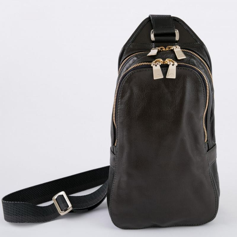 aniary ボディバッグ Antique leather 牛革 Body bag 01-07004-dgr