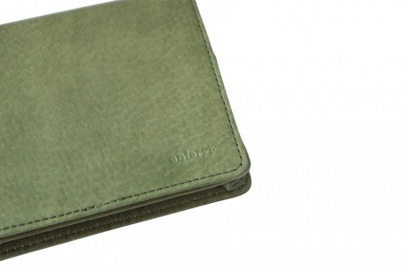 aniary ロングウォレット antique leather 牛革 Cover Bill Holder 01-20007-dgr