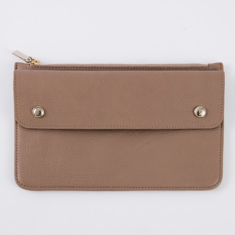 aniary クラッチバッグ Shrink leather 牛革 Clutchbag 07-08001-gg