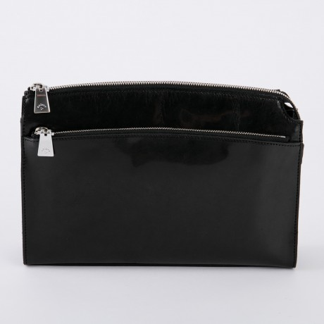 aniary クラッチバッグ Ideal leather 牛革 Clutchbag 11-08003-bk
