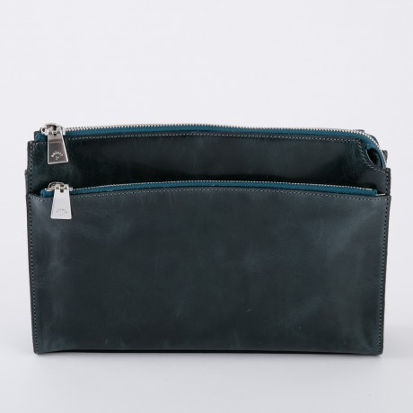 aniary クラッチバッグ Ideal leather 牛革 Clutchbag 11-08003-slt