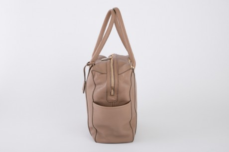 aniary トートバッグ Shrink leather 牛革 Totebag 07-02006-or