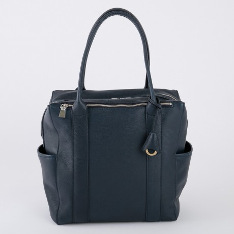 aniary トートバッグ Shrink leather 牛革 Totebag 07-02006-nv