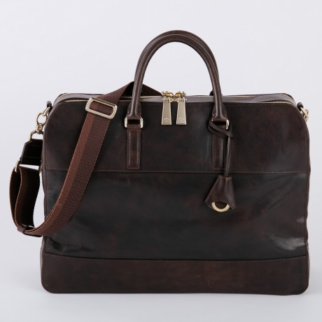 aniary ブリーフバッグ Ideal leather 牛革 Briefcase 11-01006-dbr