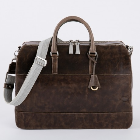 aniary ブリーフバッグ Ideal leather 牛革 Briefcase 11-01006-oak