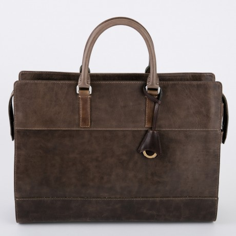 aniary ブリーフバッグ Ideal leather 牛革 Briefcase 11-01004-oak