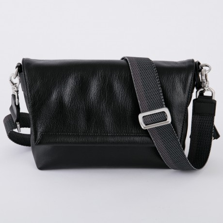 aniary メッセンジャーバッグ Antique leather 牛革 Messengerbag 01-04002-bk