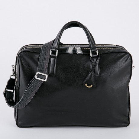 aniary ブリーフバッグ Antique leather 牛革 Briefcase 01-01007-bk