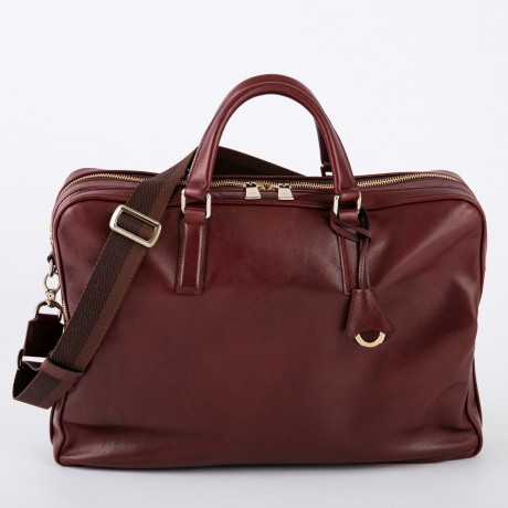 aniary ブリーフバッグ Antique leather 牛革 Briefcase 01-01007-ma