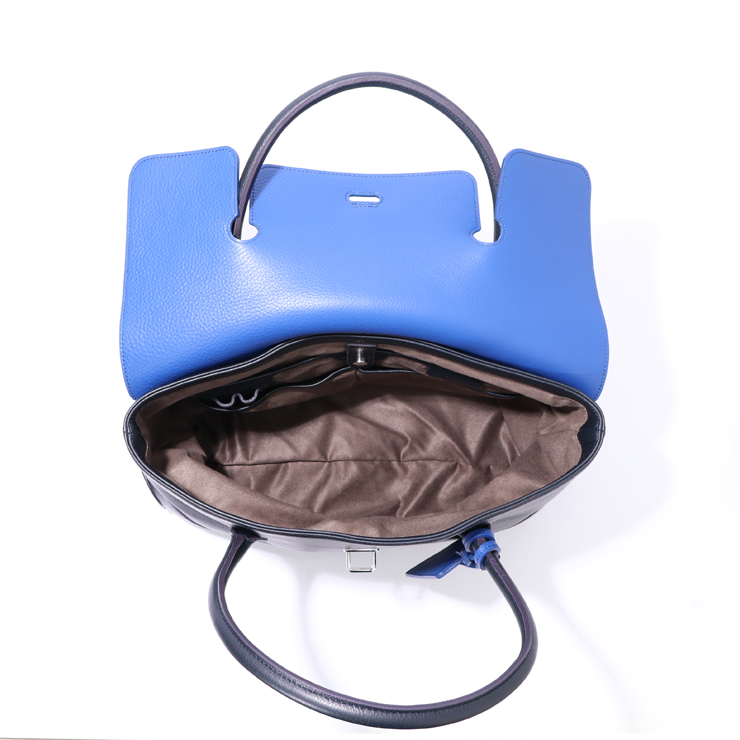 PELLE MORBIDA ボストンバッグbostonbag PMO-MB055 BI Navy/Blue
