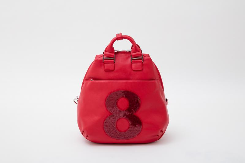 muta ムータ 2WAY リュック 8バッグ backpack rucksack MULUC-NO.8PU/S レッド RED