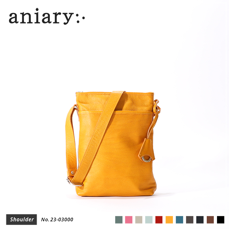 【aniary|アニアリ】トートバッグ Crossing Leather 23-03000 Yellow