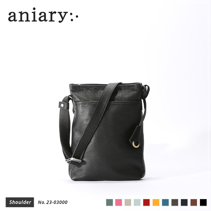 【aniary|アニアリ】トートバッグ Crossing Leather 23-03000 Black