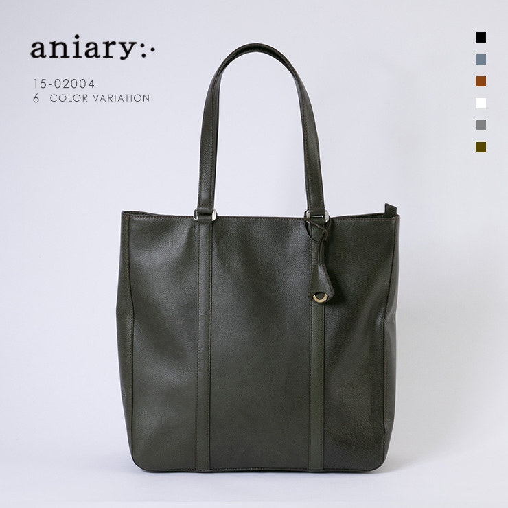 aniary トートバッグ Grind Leather 牛革 Totebag 15-02004-khbr