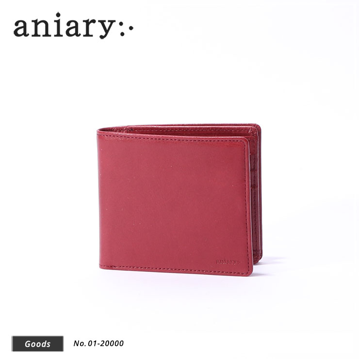 【aniary|アニアリ】ウォレット Antique Leather 01-20000 Cardinal Red