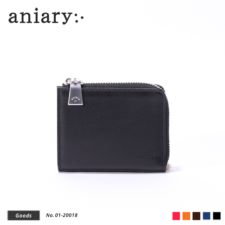 【aniary|アニアリ】ウォレット Antique Leather 01-20018 Black