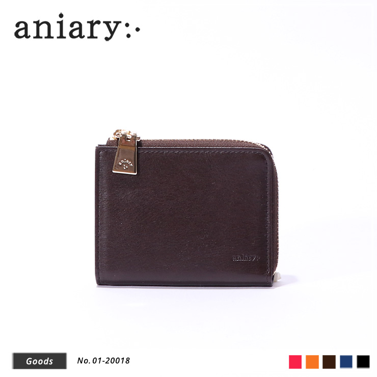 【aniary|アニアリ】ウォレット Antique Leather 01-20018 Dark Brown