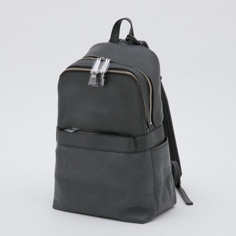 aniaryバックパック Grind Leather 牛革 Back pack 15-05000 ブラック BLACK