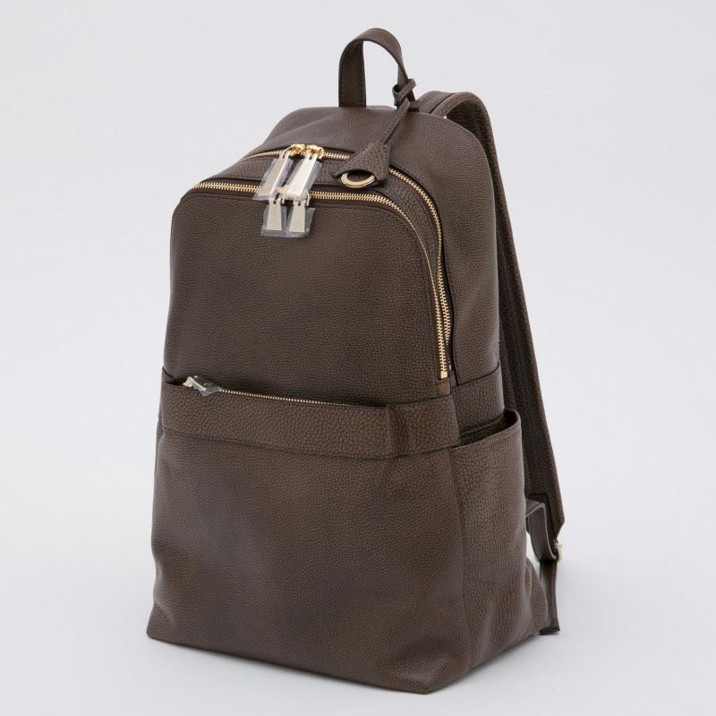aniaryバックパック Grind Leather 牛革 Back pack 15-05000 ブラウン BROWN