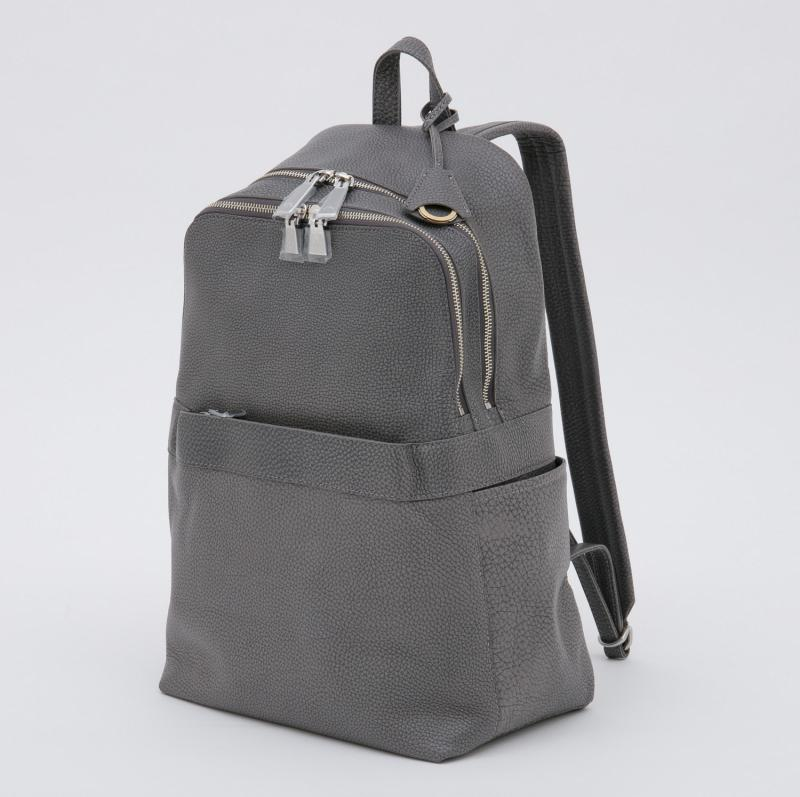aniaryバックパック Grind Leather 牛革 Back pack 15-05000 グレー GRAY
