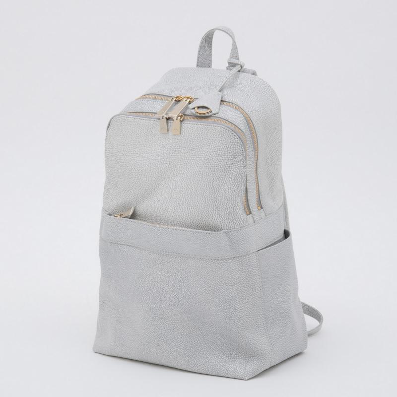 aniaryバックパック Grind Leather 牛革 Back pack 15-05000 ホワイト WHITE