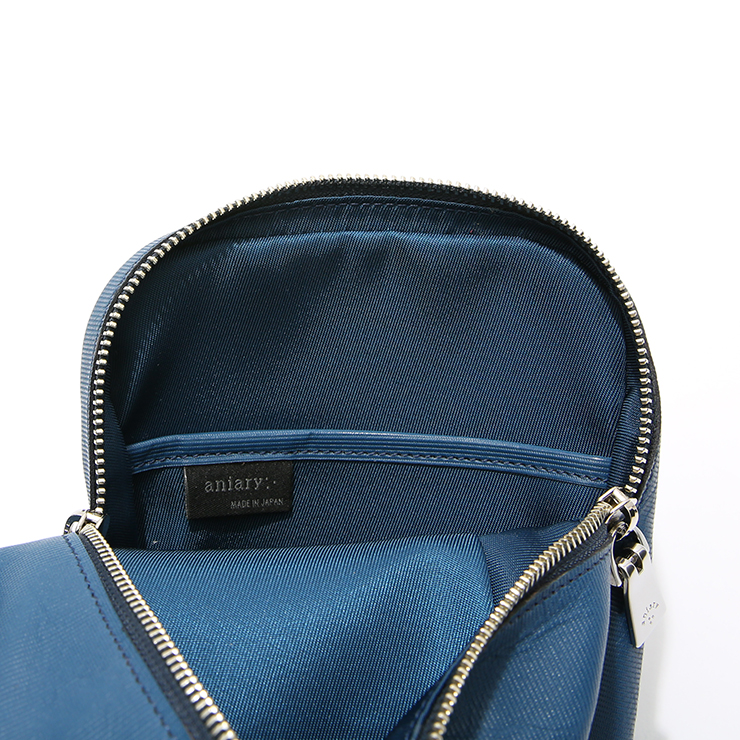 【aniary|アニアリ】ボディバッグ Refine Leather 20-07000 Blue