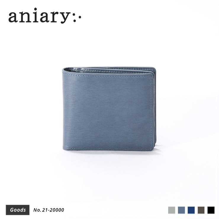 【aniary|アニアリ】ウォレット Inheritance Leather 21-20000 Blue