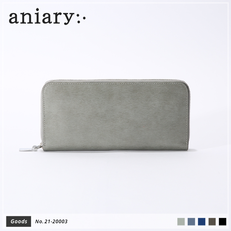【aniary|アニアリ】ウォレット Inheritance Leather 21-20003 Gray