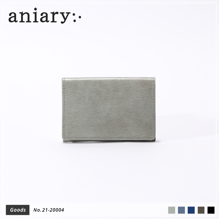 【aniary|アニアリ】カードケース Inheritance Leather 21-20004 Gray