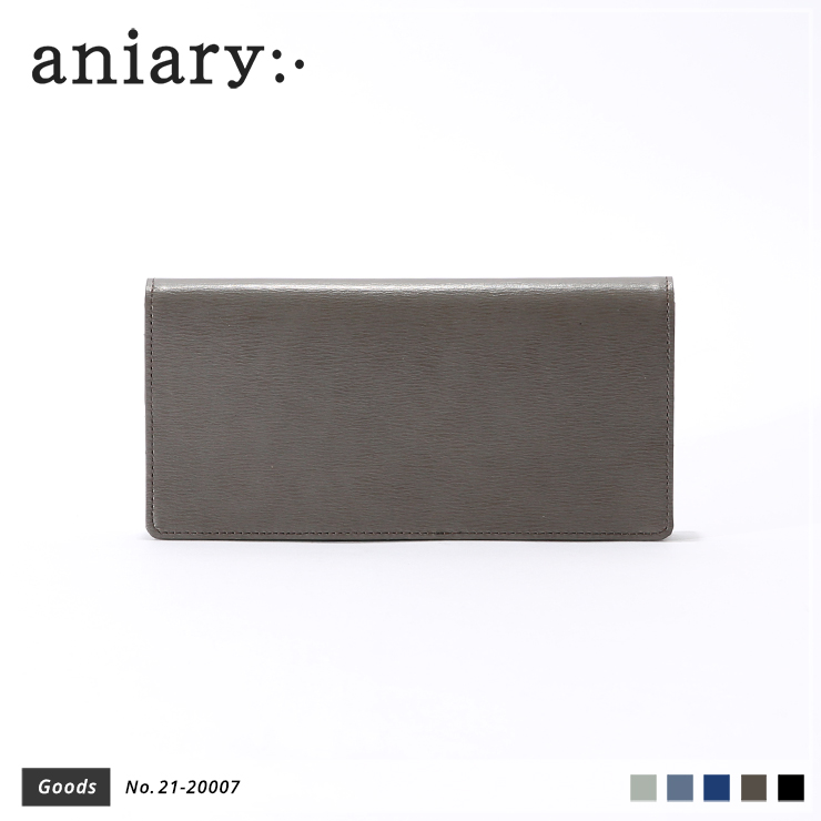 【aniary|アニアリ】ウォレット Inheritance Leather 21-20007 Smoky Brown