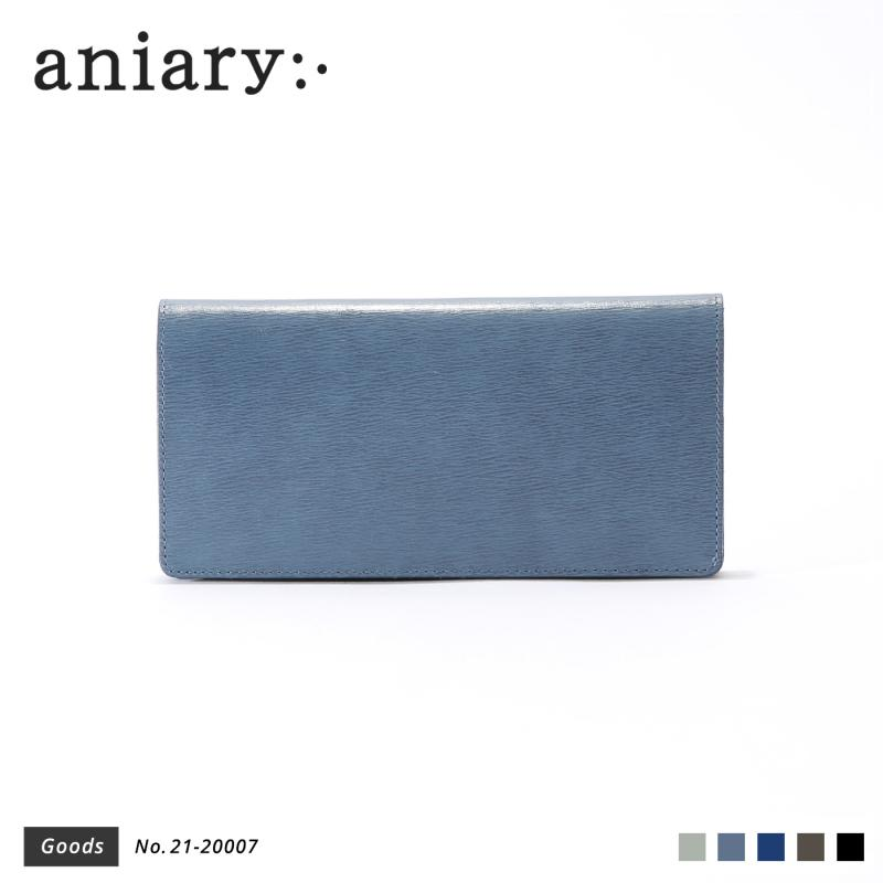 【aniary|アニアリ】ウォレット Inheritance Leather 21-20007 Blue