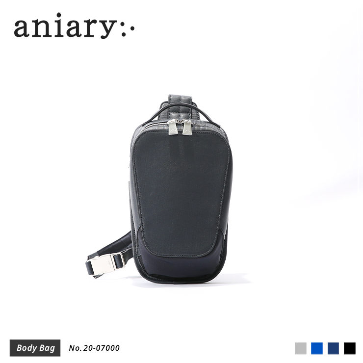【aniary|アニアリ】ボディバッグ Refine Leather 20-07000 Navy