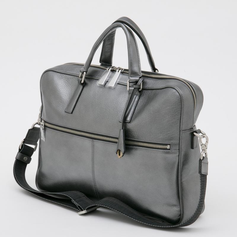 aniary ブリーフバッグ Antique leather 牛革 Briefcase 01-01006-sbk