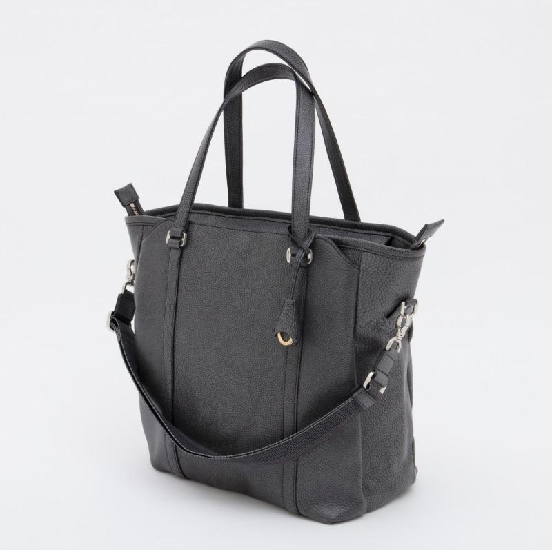 aniary トートバッグ Grind Leather 牛革 Totebag 15-02001-bk
