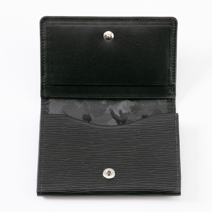 aniary カードケース Wave Leather 牛革 Cardcase 16-20004-br