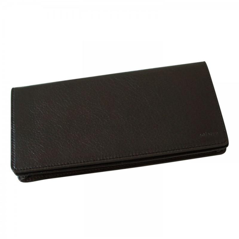 aniary 長財布 Antique Leather 牛革 Wallet 01-20007-dbr