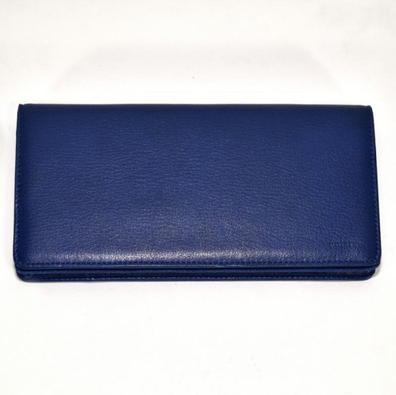 aniary 長財布 Antique Leather 牛革 Wallet 01-20007-bl