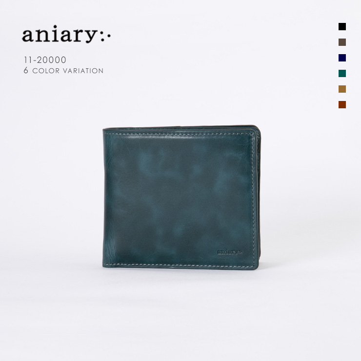 aniary ウォレット Ideal Leather 牛革 GOODS 11-20000-slt