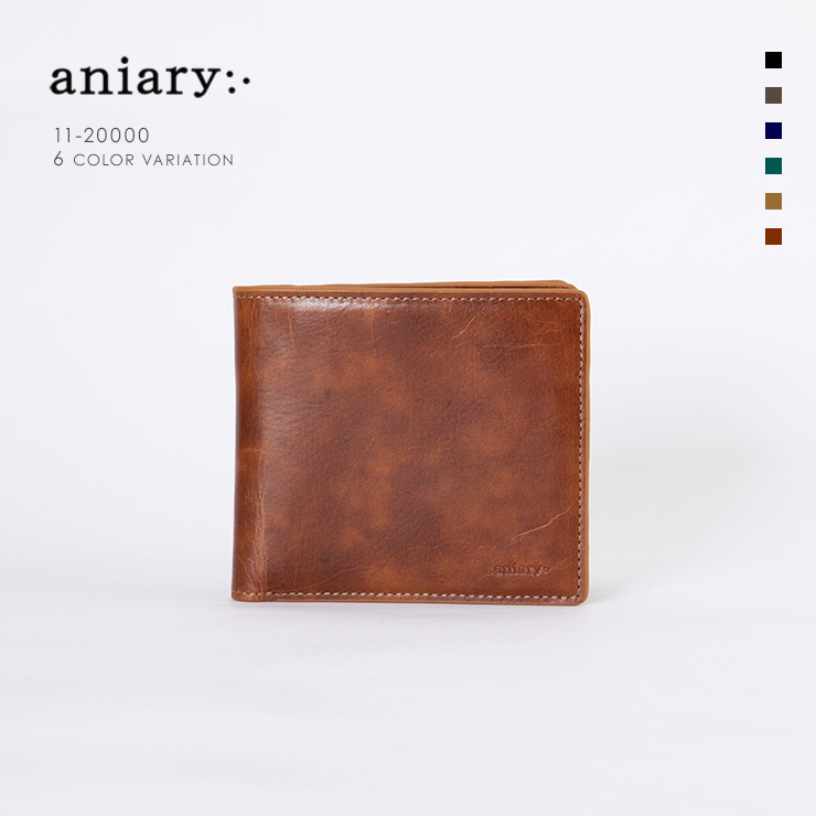 aniary ウォレット Ideal Leather 牛革 GOODS 11-20000-ca