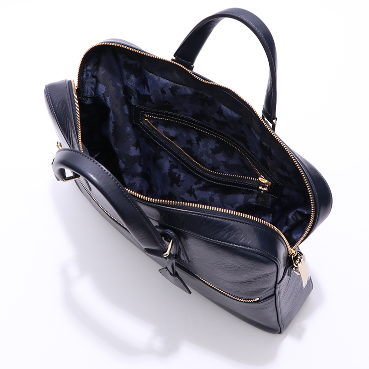 【aniary|アニアリ】ブリーフケース Antique Leather 01-01006 Dark Blue