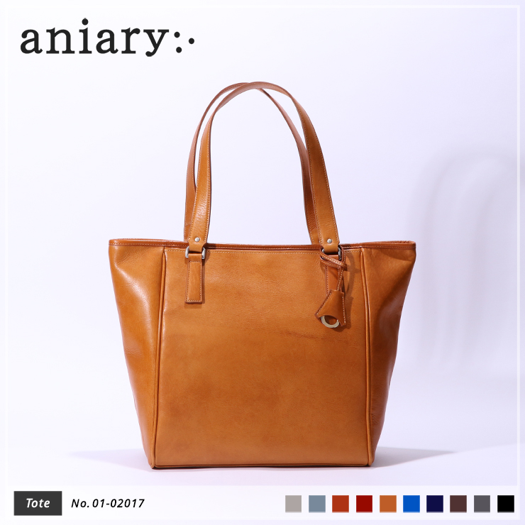 【aniary|アニアリ】トートバッグ Antique Leather 01-02017 Camel