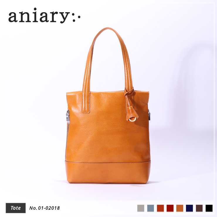 【aniary|アニアリ】トートバッグ Antique Leather 01-02018 Camel