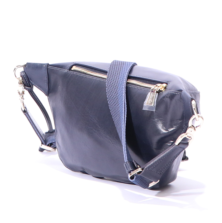 【aniary|アニアリ】ボディバッグ Antique Leather 01-07003 Pale Blue