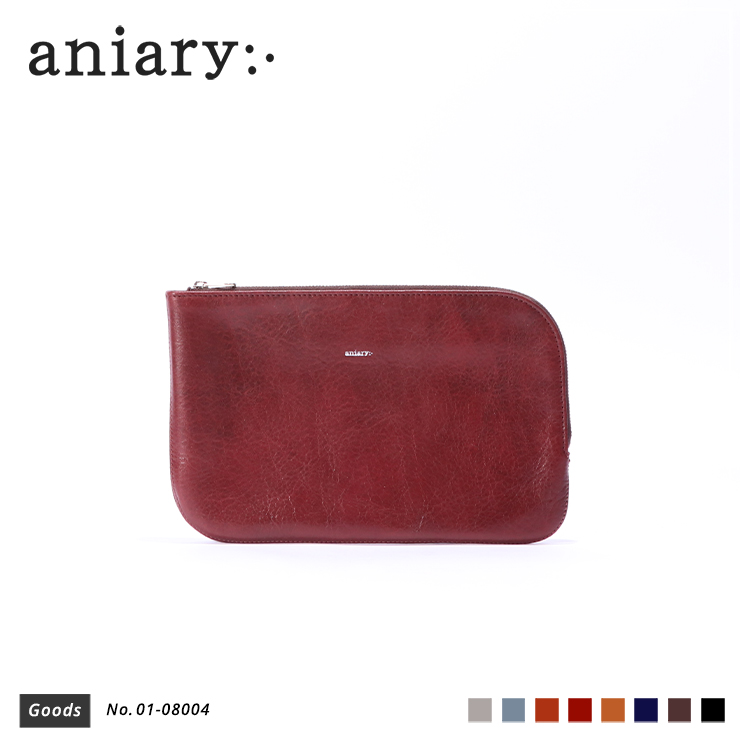【aniary|アニアリ】オーガナイザー Antique Leather 01-08004 Marron