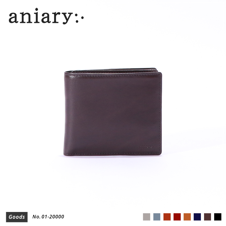 【aniary|アニアリ】ウォレット Antique Leather 01-20000 Dark Brown